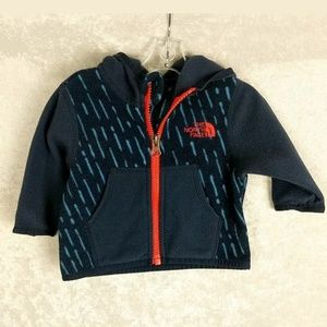 The North Face 0-3 months fleece jacket